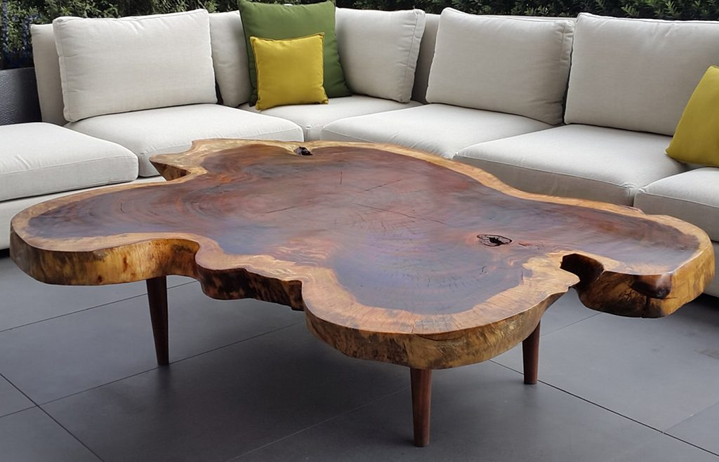 Outdoor Wood Coffee Table