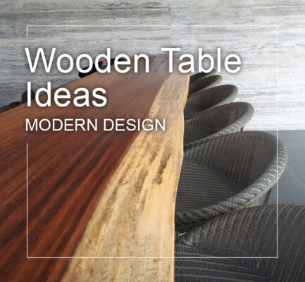 best modern wood table ideas in modern design
