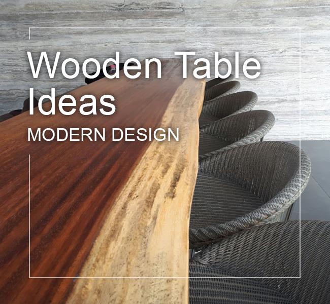 best modern wood table ideas in modern design