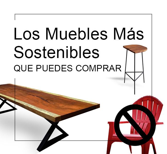 mejor mobiliario sostenible