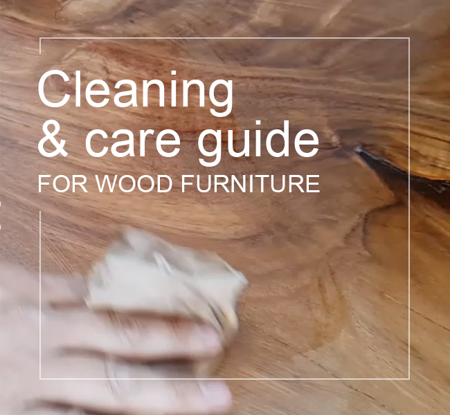 How to clean care wood furniture
