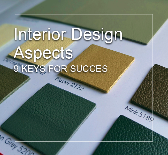 Interior Design Aspects - 9 Keys For Interior Design Success