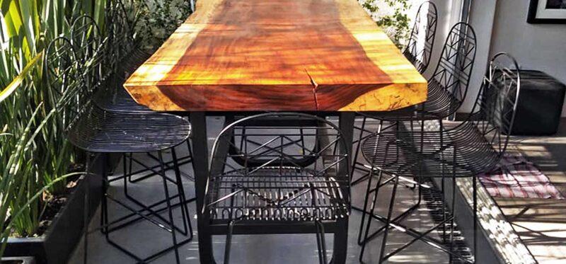 artisan parota wood furniture