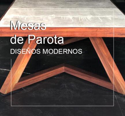 parota mesas comedores modernos