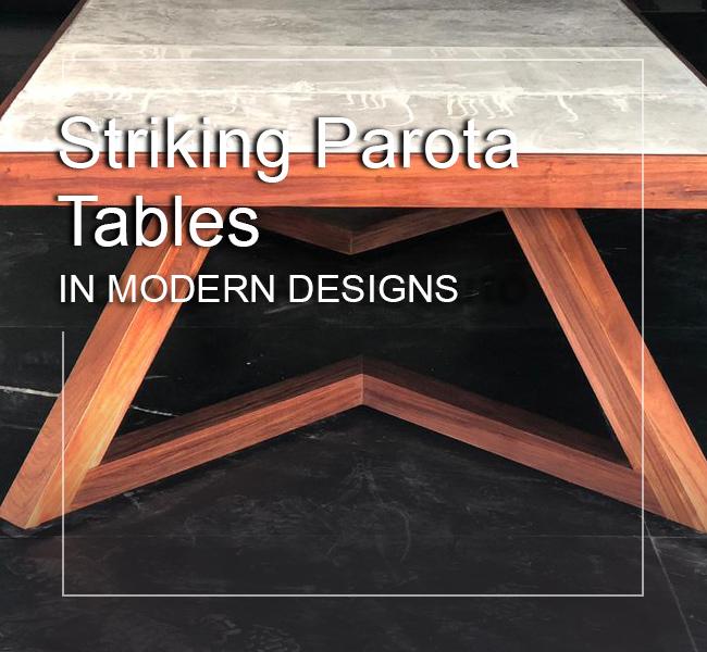 parota wood dining tables modern
