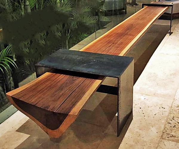 parota wood furniture modern mx