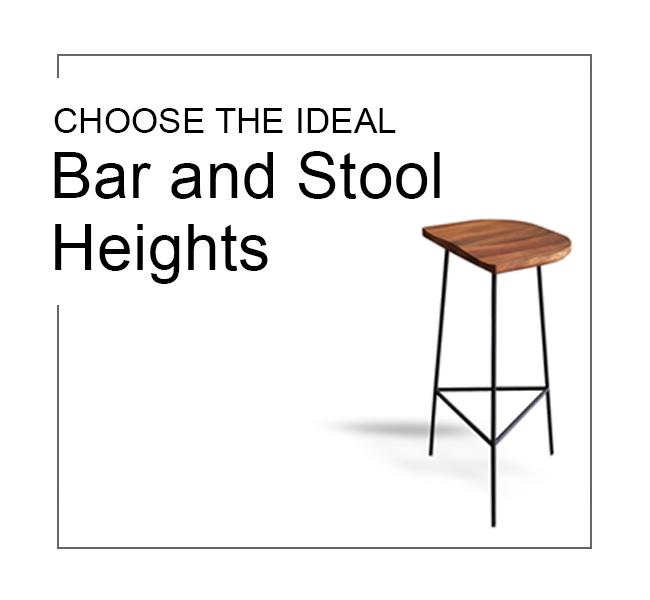 counter bar stool ideal heights standard