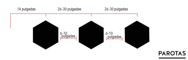 calcular medidas sillas taburetes bar