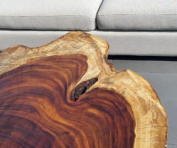 pmf sobre parota madera