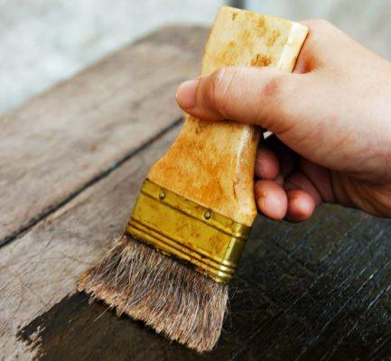 outdoor wood furniture protect waterproof refinish