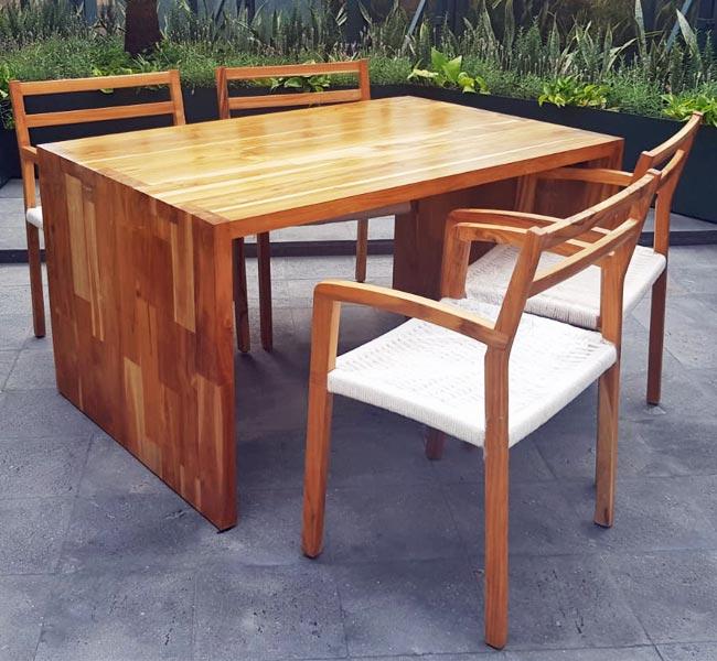 teak furniture cleaning care restore refinish maintenance
